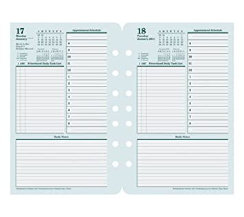 2 page per day planner