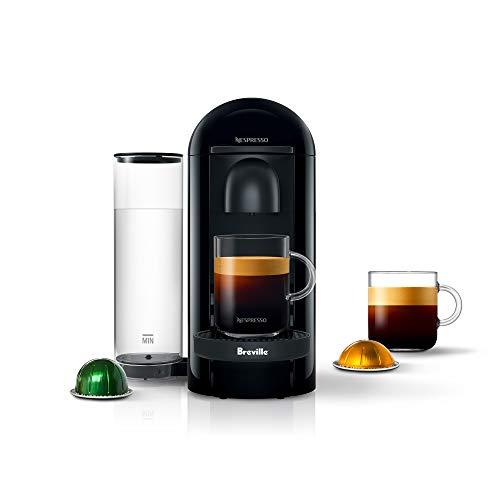 Nespresso VertuoPlus Coffee and Espresso Machine by Breville, Ink Black