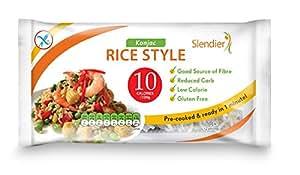 Amazon.com : Slendier Organic Konjac Rice Style 400g (Pack