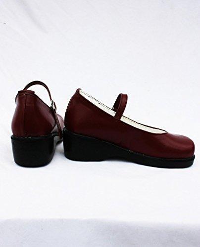 Zwarte Butler Kuroshitsuji Elizabeth Cosplay Schoenen Laarzen Op Maat Gemaakt