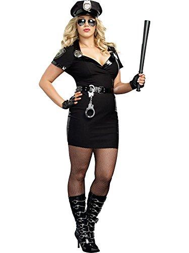 (Dirty Cop Officer Anita Bribe Plus Size)