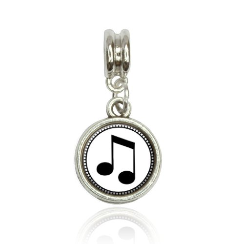Musical Note Euro European Italian Style Bracelet Bead Charm