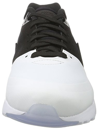 Nike Air Max BW Ultra Se, Sneakers Basses Homme, Rouge Blanc, 4.5 UK Noir (White/Black/Black)