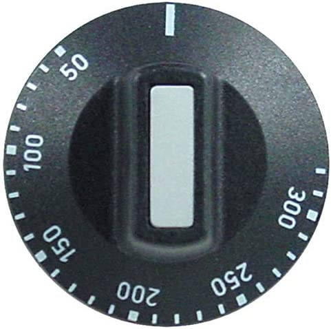 Knebel 50-300 /°C f/ür Thermostat Drehknopf EGO 00.00524.891
