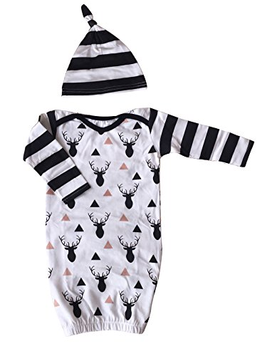 Newborn Cotton Outfit Elastic Bottom product image