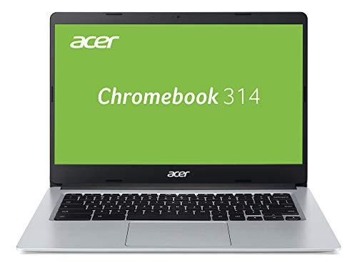 Acer Chromebook 314 (14 Zoll HD matt, 19,7mm flach, extrem lange Akkulaufzeit, schnelles WLAN, MicroSD Slot, Google…