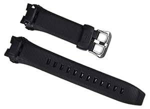 Casio Correa de Reloj Resin Band negro para GW-1400, GW1401