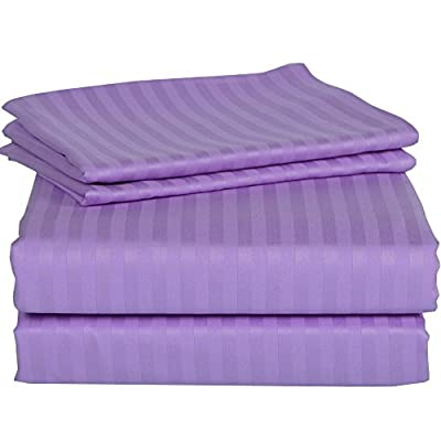 """JB Linen 550 Thread Count Hotel collection 100% Egyptian Cotton Super Soft Sheet Set (Choose Size & Colors) Fit Up to 9"""" inches Deep Mattress With Wholesale Price."""
