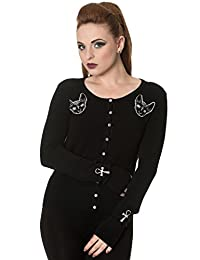 Banned Sphynx Cat 9 Lives Occult Cardigan