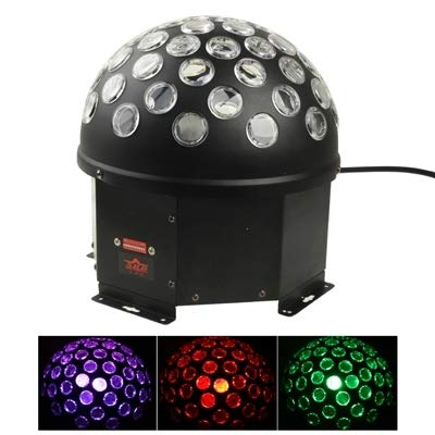 stage lighting RGB LED DMX512 10CH Magic Ball Stage Light with Sound Control Function