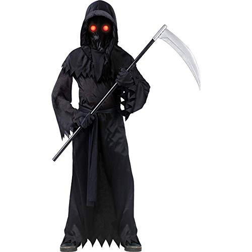 Grim Reaper Fade In/Out Unknown Phantom Costume, Child Small -