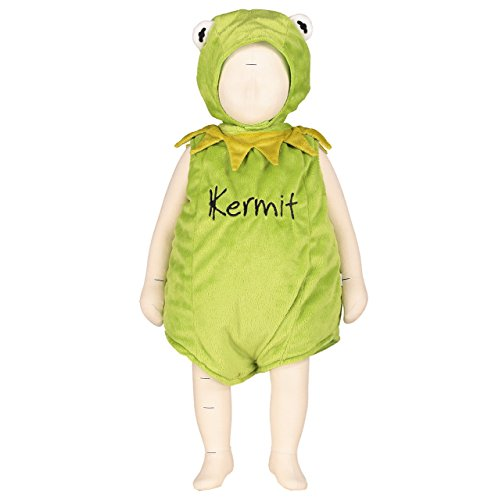 Disney Baby Muppets Kermit Tabard With Feature Hat (3-6 Months)
