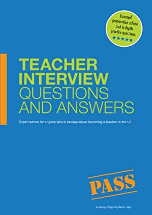 Amazon.com: Teacher Interview Questions & Answers eBook ...
