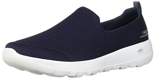 Go Skechers Women's Navy White Sneaker Joy Walk 15635 qZqw5r6x