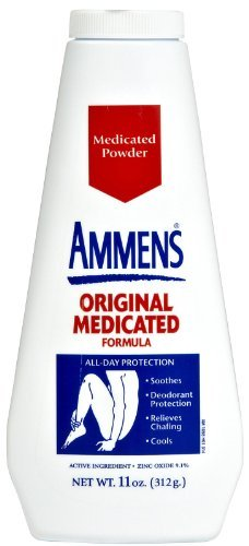 Ammens Original Medicated Powder, Talc Free Formula, 11 Ounces Each (Value Pack of 3) by Marble Medical