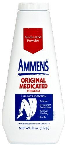 - Ammens Original Medicated Powder, Talc Free Formula, 11 Ounces Each (Value Pack of 3)