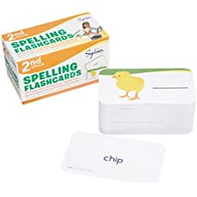 2nd Grade Spelling Flashcards: 240 Flashcards for Building Better Spelling Skills Based on Sylvan's Proven Techniques for Success (Sylvan Language Arts Flashcards)