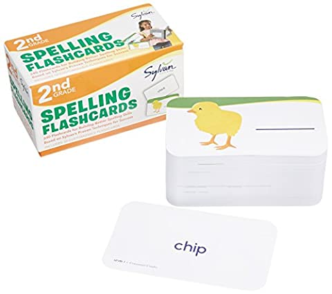 2nd Grade Spelling Flashcards: 240 Flashcards for Building Better Spelling Skills Based on Sylvan's Proven Techniques for Success (Sylvan Language Arts (Language Of Spells)