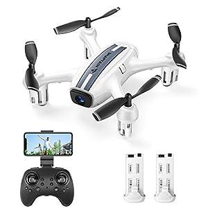 SNAPTAIN SP360 Mini Drone avec Caméra 720P FPV, Contrôle par Geste, Induction de Gravité, Vol de Trajectoire, Mode sans…