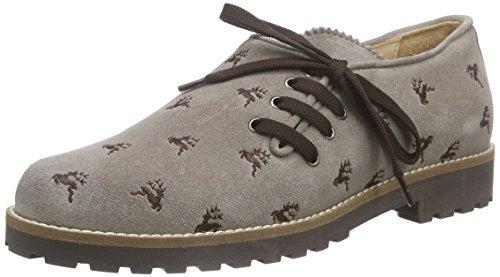 Mujer de Zapatos Dany Taupe Cordones Derby Diavolezza Beige xBXaw8q