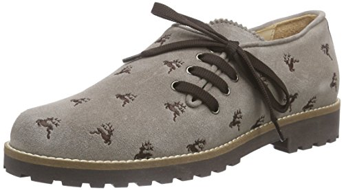 de Taupe Diavolezza Mujer Derby Cordones Dany Beige Zapatos q0rSUE0