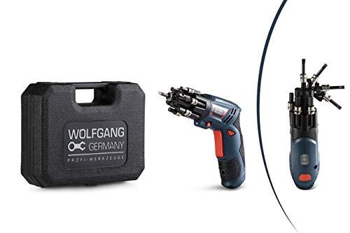 WOLFGANG® Akkuschrauber Klein mit Ladegerät | Mini Akkuschrauber Set | 3,6 V,...
