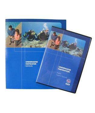 Padi Specialty Underwater Navigation Crewpack W-Dvd 60025 Scuba Dive Diving Divers