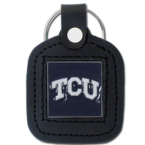 NCAA TCU Horned Frogs Leather Key ()