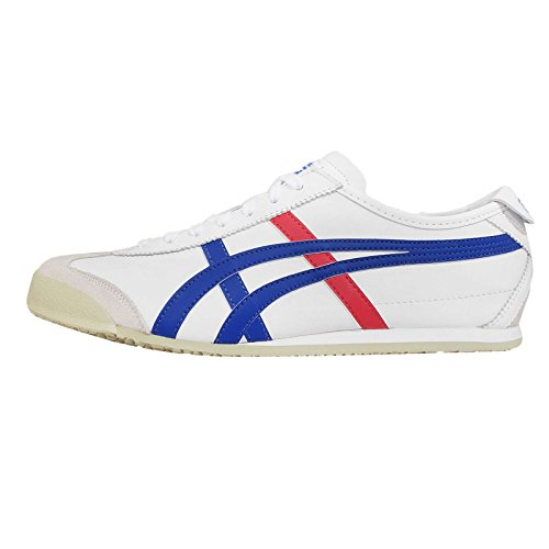 ASICS Men's Mexico 66, White/Blue, 28.5 cm