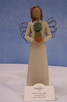 Willow Tree 26081 Welcoming Angel Resin Figurine