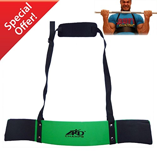 ARD-Champs Heavy Duty Arm Blaster Body Building Bomber Bicep Curl Triceps Green New by ARD-Champs