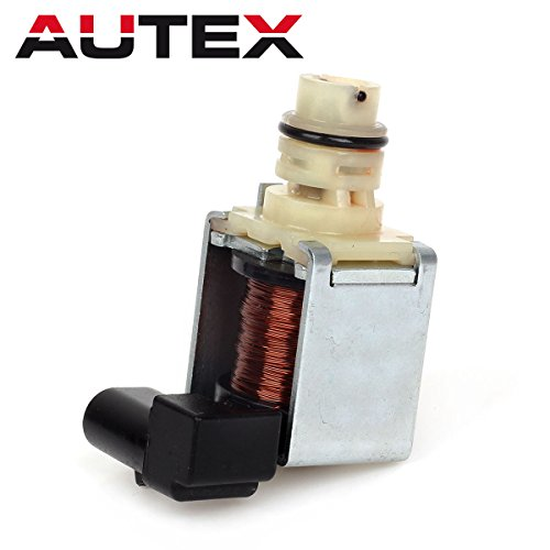 (AUTEX 4T65E 4T60E 24219819 Transmission Shift Solenoid 1-2 2-3 A&B Compatible With 97-Up)