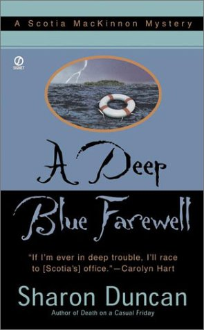 A Deep Blue Farewell (Scotia MacKinnon Mysteries)