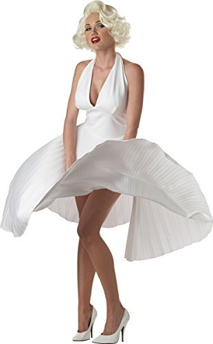 Deluxe Marilyn Costumes (Deluxe Marilyn Monroe Adult Costume - X-Large)