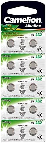 Camelion Alkaline Knopfzellen Ag2 G2 Lr726 397 Elektronik