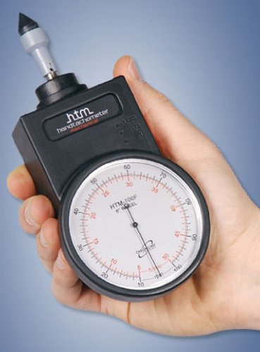 Complete Kit Checkline HTM-100F Hand-Held Mechanical Tachometer 10-10,000 rpm//5-5,000 ft//min w// 6 circumference surface speed wheel