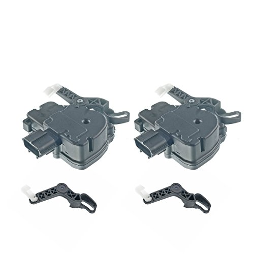 Set of 2 Driver and Passenger Side Sliding Door Power Lock Actuators Motors for Chrysler Town & Country Voyager Dodge Grand Caravan 2001-2007 (Dodge Caravan Sliding Door)