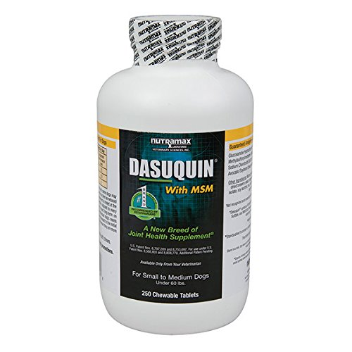 Dasuquin with MSM - Chew Tab - Small/Medium Dog (Under 60 lb) - 250 count