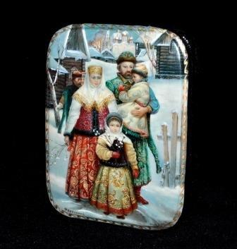 (Fedoskino Russian Lacquer Box