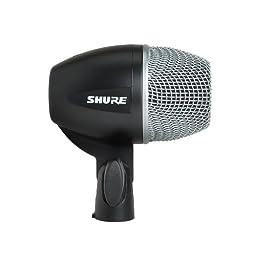 Shure PG52-XLR Instrument Dynamic Microphone, Cardioid