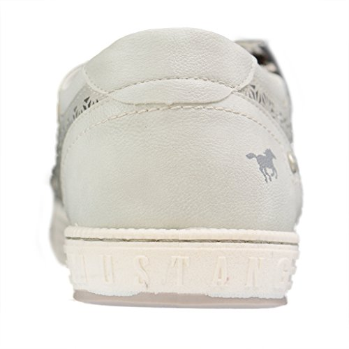 Mustang 1246-301-506, Zapatillas para Mujer plata