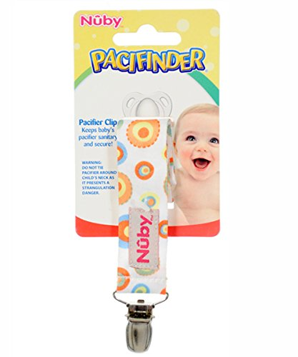 Nuby Pacifinder Ribbon Pacifier Clip