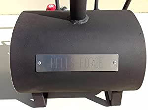 Hell's Forge Portable Propane Forge Single Burner Knife and Tool Making Farrier Forge MADE IN THE USA by Hell's Forge