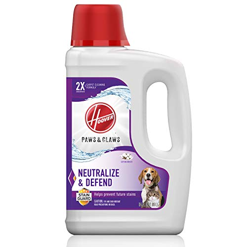 Hoover Paws & Claws Deep Cleaning Carpet Shampoo with Stainguard