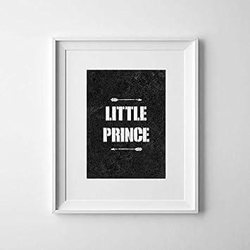 Perfekt Little Prince Print, Poster, Kinderzimmer Decor Wandbehang Schwarz Und Weiß  Pfeile Poster Wall Art