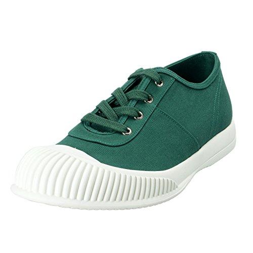Zapatillas De Deporte De Lona Verde Prada Para Hombre Us 10 It 9 Eu 43