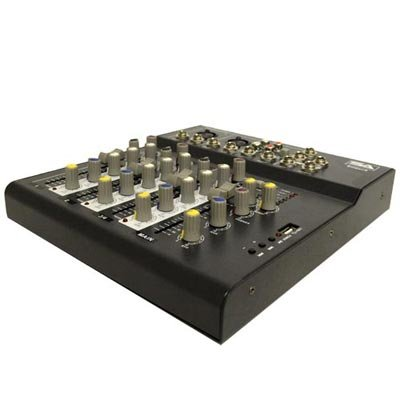 Seismic Audio - Slider4-4 Channel Mixer Console with USB Interface by Seismic Audio (Image #6)
