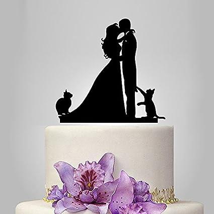 Amazon Acrylic Sweet Love Wedding Cake Topperwedding Stand