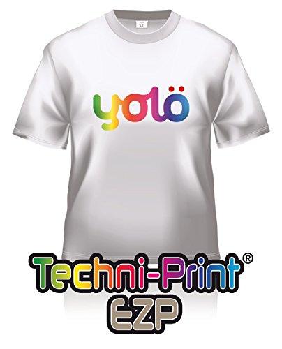 10 fogli formato A3 da Techni stampa Laser ® EZP-Carta per trasferimento immagini su maglietta di calore e trasferimenti Neenah