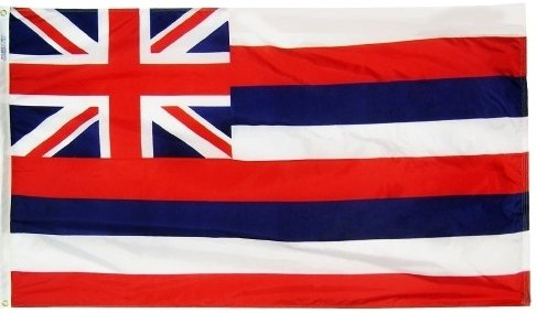3×5′ Hawaii 2ply Polyester State Flag Review